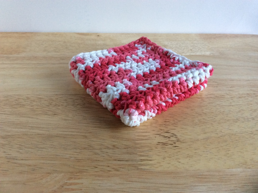 Crochet Valentines Day Dishcloth Etsy Sale
