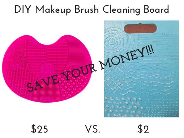 Sigma Spa Brush Cleaning Mat vs. DIY Makeup Brush Cleaning Board