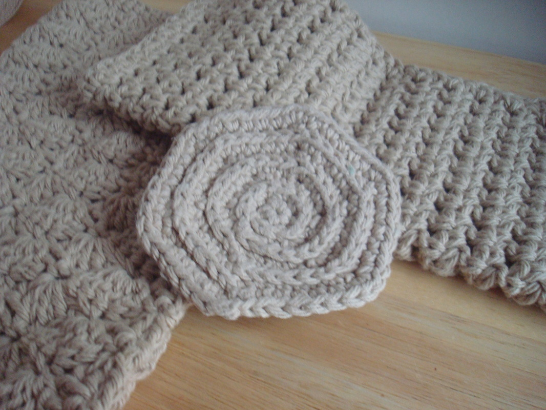 Crochet, Washcloth, Dishrag