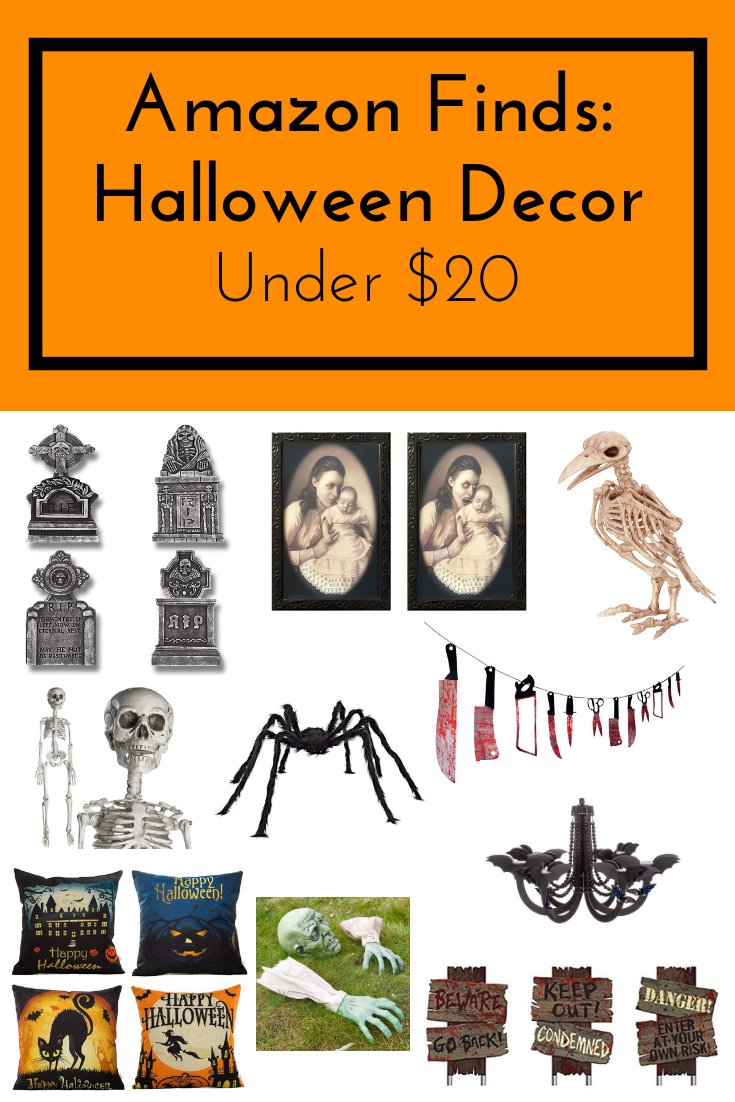Amazon Finds Halloween Decor