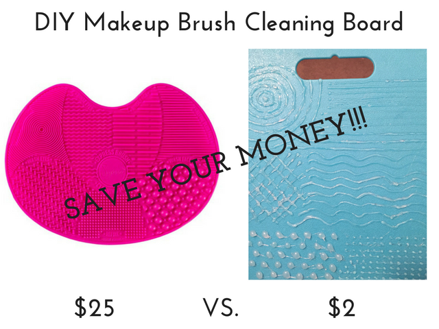 Sigma Spa Brush Cleaning Mat vs. DIY Makeup Brush Cleaning Board