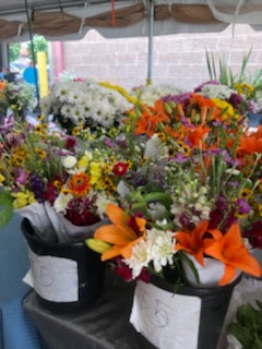 Fresh Flowers | State Farmers Market | Things to do in Raleigh, NC