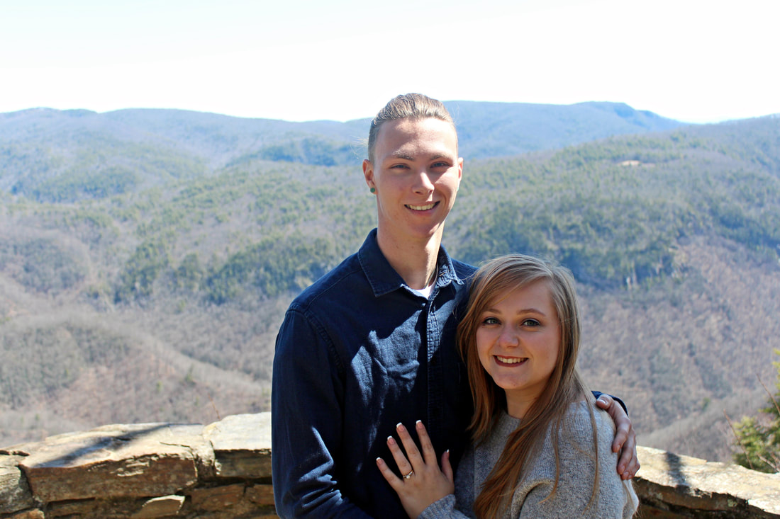 Blue Ridge Parkway Engagement Pictures