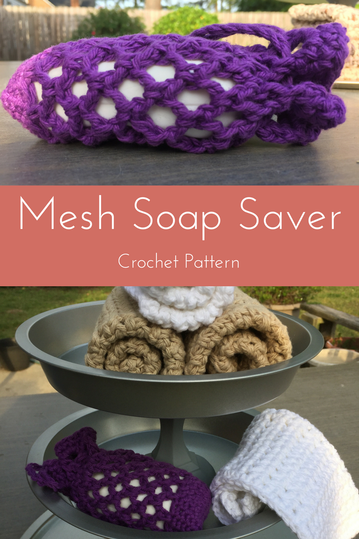 mesh soap saver crochet pattern